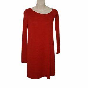 ARITZIA WILFRED FREE red Brinkley dress XXS